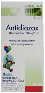 صورة, عبوة, أنتي ديازوكس, معلق, Antidiazox