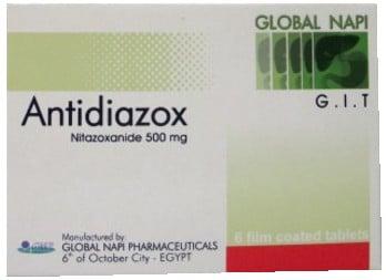 صورة, عبوة, أنتي ديازوكس, أقراص, Antidiazox