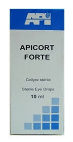 صورة , عبوة , دواء , قطرة , أبيكورت + فورت , Apicort + Forte