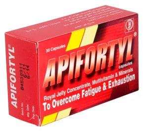 صورة, دواء, علاج, عبوة, ابيفورتيل , Apifortyl