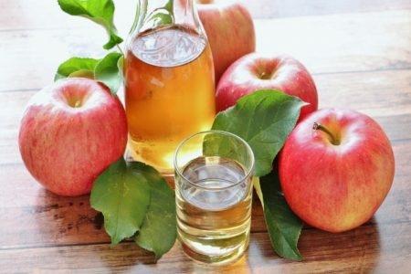 صورة , خل التفاح , علاج البواسير , البواسير الخارجية