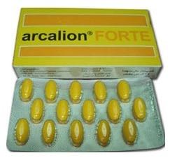 صورة, دواء, علاج, عبوة, اركاليون فورت , Arcalion Forte