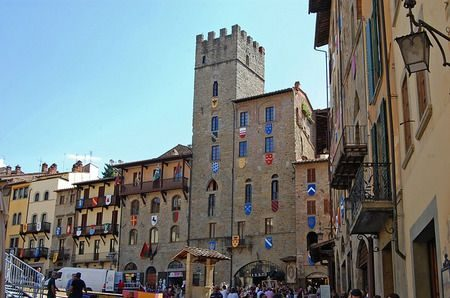 Arezzo ، مدينة أريتسو ، إيطاليا ، صورة
