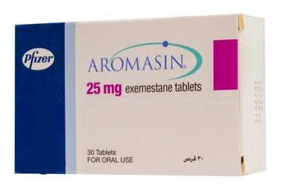 صورة.دواء.علاج,سرطان الثدي, عبوة .أروماسين. Aromasin