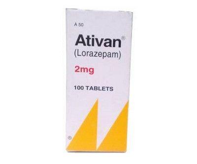 صورة , عبوة , دواء , مهدئ , أتيفان , Ativan