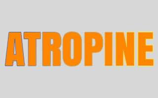 صورة , تصميم , آتروبين , Atropine
