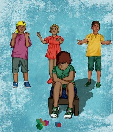 صورة , أطفال , اليوم العالمي للتوحد , اضطراب التوحد