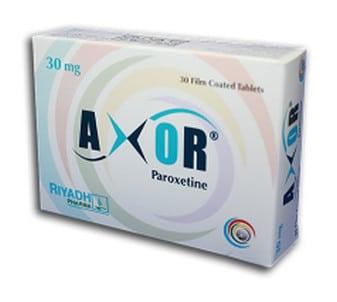 صورة,دواء, عبوة, أكسور, Axor