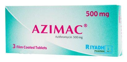 صورة,دواء,علاج, عبوة, أزيماك , Azimac