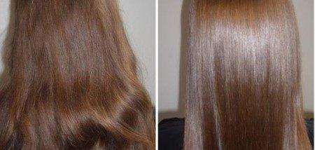 الشعر ، العناية بالشعر ، البروتين ، فرد الشعر