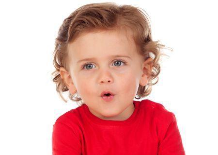 صورة , طفل , الكلام , تأخر النطق