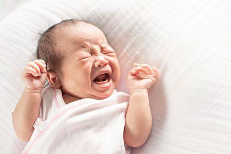 صورة , الأطفال الرضع , حديثي الولادة , المغص