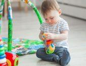 صورة , طفل , فوائد اللعب , لعب أطفال