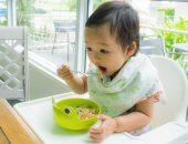 تغذية الطفل , Baby eating , صورة