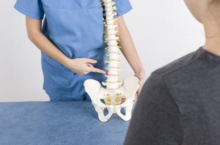 انحناء العمود الفقري , الأطفال , Back bone , صورة