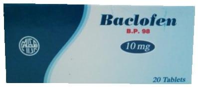 صورة,عبوة, باكلوفين, Baclofen
