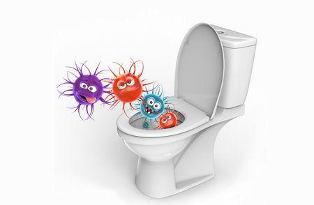 البكتيريا والجراثيم , تنظيف المنزل