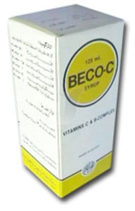 صورة,دواء,علاج, عبوة , بيكو-سى , Beco-C