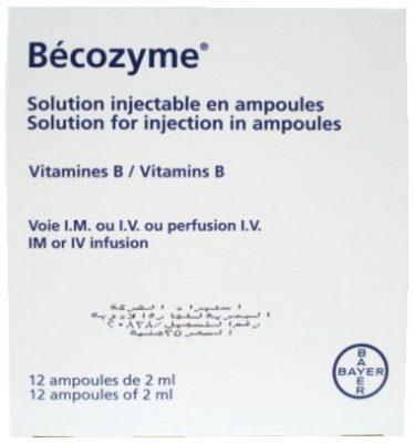 صورة, عبوة, بيكوزيم, Becozym