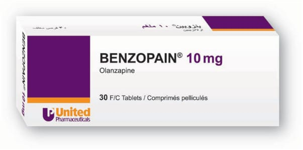 صورة, عبوة ,بنزوبين ,أقراص, Benzopain, Tablet