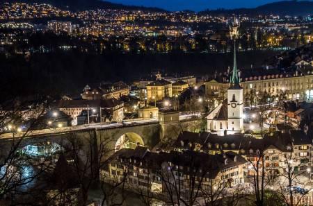 برن ، سويسرا ، حديقة بير ، حديقة الورود ، زيتجلوج ، اينشتاين هاوس ، المنتجعات الصحية