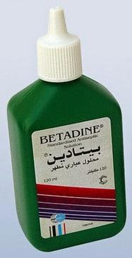 صورة , عبوة , دواء , بيتادين دش مهبلي , Betadine