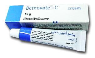 صورة , عبوة , دواء , كريم , بيتنوفيت سي , Betnovate-C