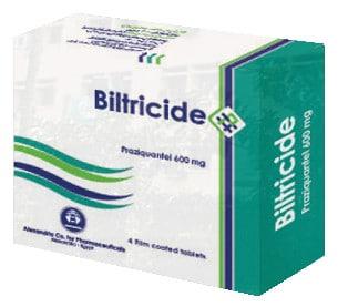 صورة, عبوة, أقراص, بيلتريسيد , Biltricide