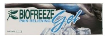 صورة , عبوة , دواء , لتخفيف آلام العضلات , بيوفريز جل , Biofreeze Gel