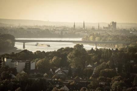 بون ، ألمانيا ، قصر بوبيلشدوف ، المشتل هارلي ، أريثميوم ، حديقة الراين