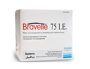 صورة , عبوة , دواء , لعلاج عقم الإناث , برافيل , Bravelle