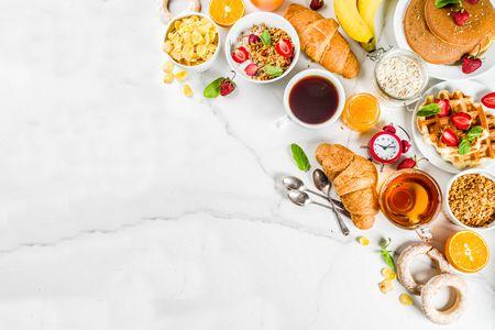 صورة , طعام , وجبة الإفطار