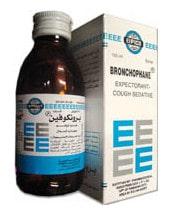 عبوة , برونكوفين , شراب , صورة , Bronchophane
