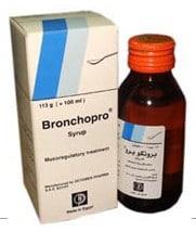 صورة ، عبوة ، دواء ، شراب ، برونكوبرو ، Bronchopro