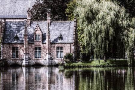 بروج ، بلجيكا ، برج الجرس ، محلات الشيكولاتة ، القناة الخضراء ، كنيسة السيدة العذراء ، متحف جروينيجي