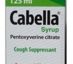 صورة , عبوة , دواء , شراب , علاج السعال , كابيلا , Cabella