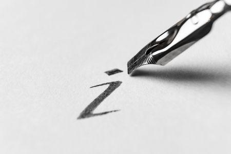 صورة , قلم , فن الخط , مهنة الخطاط