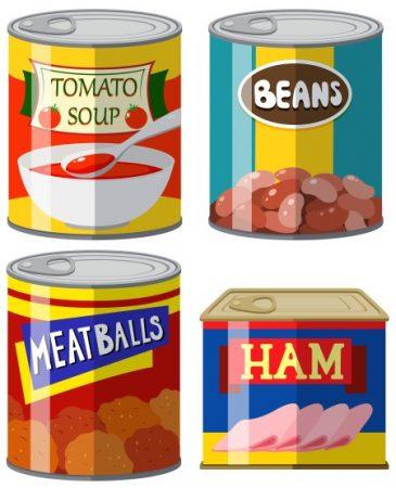 المعلبات ، القيمة الغذائية ، الغذاء الصحي