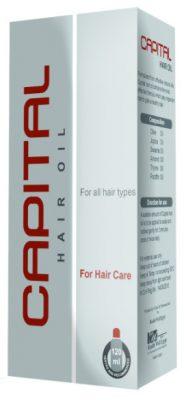صورة,عبوة, زيت شعر, كابيتال, Capital ,Hair Oil