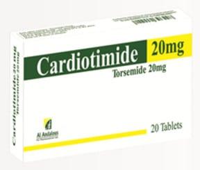 صورة,دواء, عبوة, كارديوتيمايد, Cardiotimide