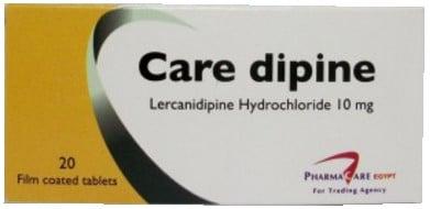 صورة, عبوة, كيرديبين, Care Dipine