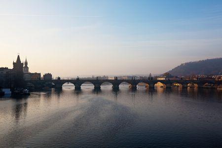 جسر تشارلز. براغ، جمهورية التشيك