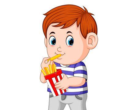 صورة , طفل , إدمان الطعام ,