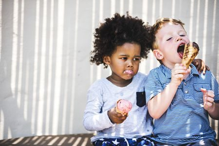 صورة , أطفال , السكريات , مضار السكر
