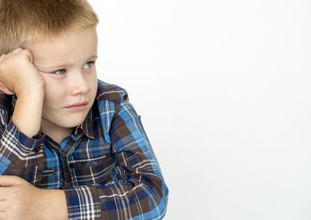 صورة , طفل , الغيرة , طفل حزين