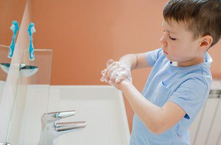 صورة , طفل , النظافة الشخصية