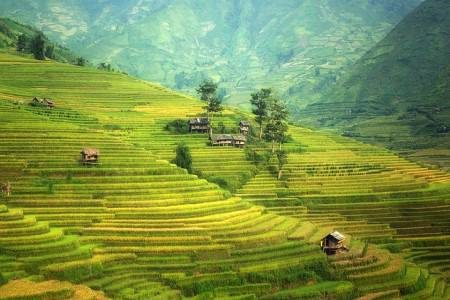 الصين ، المعالم السياحية ، جبل إيلاو ، المدرجات الملونة ، الجبال العائمة ، جبال الصين الملونة