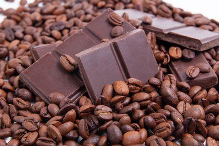 صورة , الشوكولاتة , القهوة