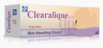 صورة,Cream,دواء,كريم, عبوة, كليراليك, Clearalique