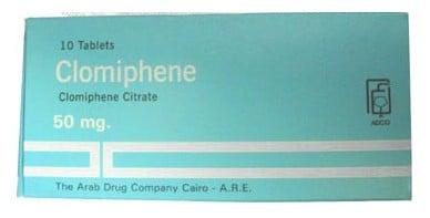 صورة , عبوة , دواء , كلوميفين , الحمل , Clomiphene